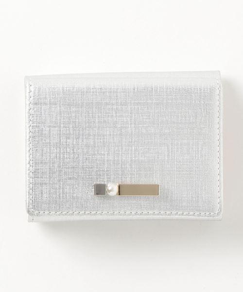 fa8ee0d41c8d LANVIN en Bleu(ランバンオンブルー)の「ロンシャン 3つ折りミニ財布(財布)」 - WEAR