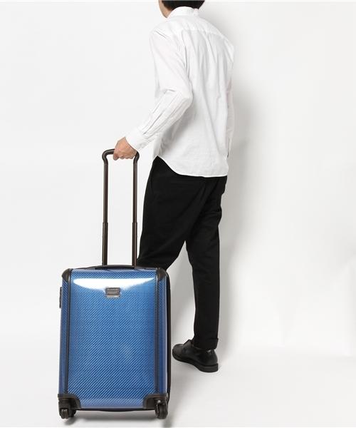 3d71e09b6e TUMI(トゥミ)の「28807 インターナショナル・スリム・キャリーオン(スーツケース/キャリーバッグ)」 - WEAR