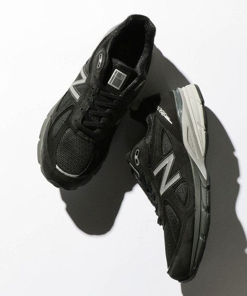 <New Balance (ニューバランス)> M990 v4 BLACK/スニーカー