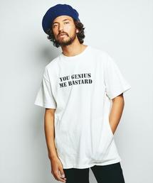 Y.G.M.B. プリント ポケ付Tシャツ