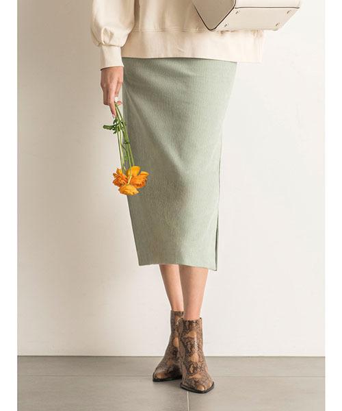 f99225b1c47016 Mila Owen(ミラオーウェン)の「サマーコールタイトスカート(スカート ...