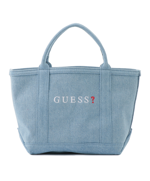 5e8f7abd6ade Guess(ゲス)の「SMALL DENIM TOTE BAG【JAPAN EXCLUSIVE ITEM】(トートバッグ)」 - WEAR