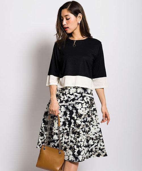 f1aa38f6fca14 MILLION CARATS(ミリオンカラッツ)の「 2017SPRING フラワースカート DRESS ドレス (スカート)」 - WEAR