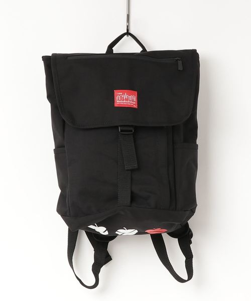 395cfedcaf69 Manhattan Portage(マンハッタンポーテージ)の「NYC Print Washington SQ Backpack JR(バックパック/リュック)」  - WEAR
