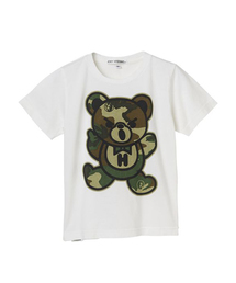 WOODLAND CAMO BEAR pt Tシャツ