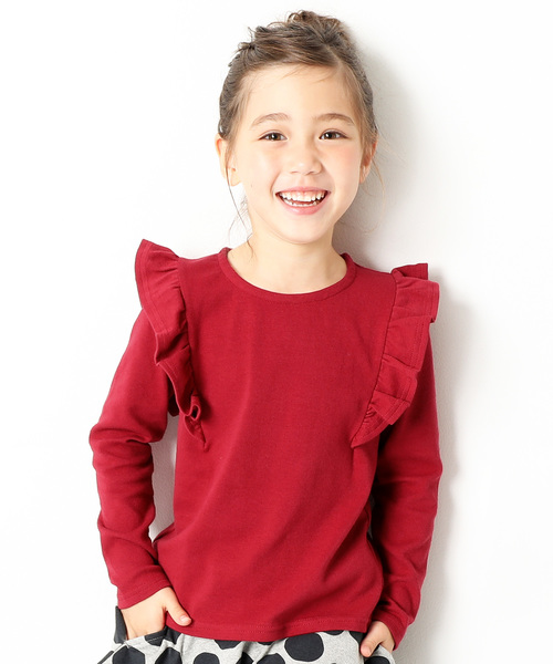 2dcd2fd5ca166 devirock(デビロック)の「ガールズデザインロングTシャツ カットソー(Tシャツ・カットソー)」 - WEAR