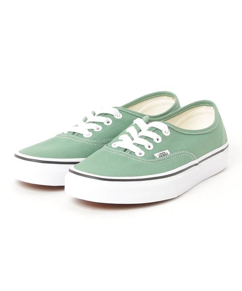 VANS 반스 AUTHENTIC 오센틱(진정한,진짜의,실물의) VN0A38EMUKV DEEP GRASS GREEN/TRUE WHITE