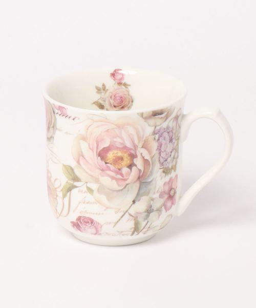[axes femme 악시즈팜 주방용품] 핑크 로즈 머그컵