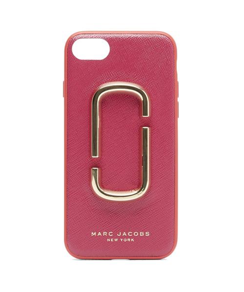 a17a96bdb3 MARC JACOBS(マークジェイコブス)の「PHONEケース/ダブルJ サフィアノ スマートフォン カバー ケース iPhone7  /iPhone8(モバイルケース/カバー)」 - WEAR