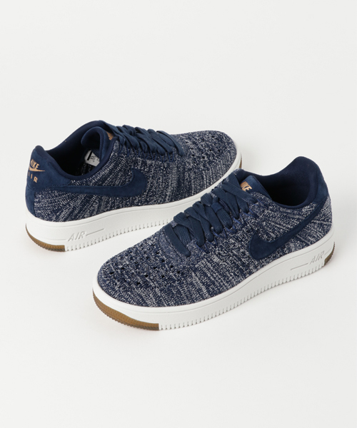 more photos eba93 df236 NIKE(ナイキ)の「NIKE W AF1 FLYKNIT LOW (COLLEGE NAVY ...