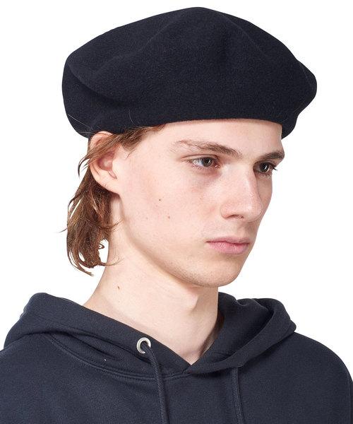 KIJIMA TAKAYUKI ウールカシミヤベレー帽(ハンチング 帽子