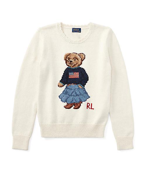 13d226eb58b5b Polo Ralph Lauren Childrenswear(ポロ キッズ)の「Polo ベア セーター(ニット・セーター)」 - WEAR