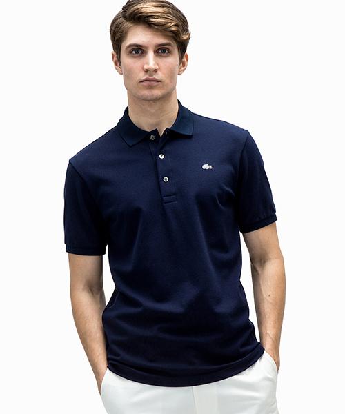 61c228875d0e LACOSTE(ラコステ)の「ストレッチスリムフィットポロシャツ (半袖)(ポロシャツ)」 - WEAR