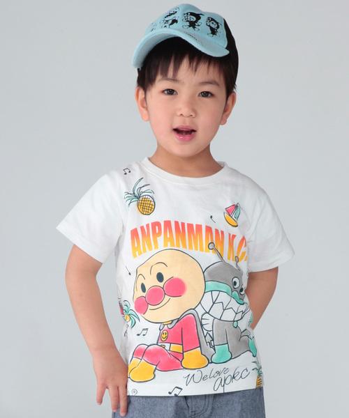 5e937e3cc28c52 ANPANMAN KIDS COLLECTION(アンパンマンキッズコレクション)の「【アンパンマン】AP×BKトロピカルTシャツ(Tシャツ・カットソー)」  - WEAR