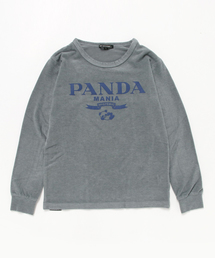 PANDA MANIA pt Tシャツ【L】