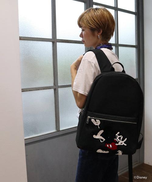 cb983c4995c8 MICKEY MOUSE(ミッキーマウス)の「【Disney/ディズニー】ミッキーサガラ刺繍DAYPACK AWD(バックパック/リュック)」 -  WEAR