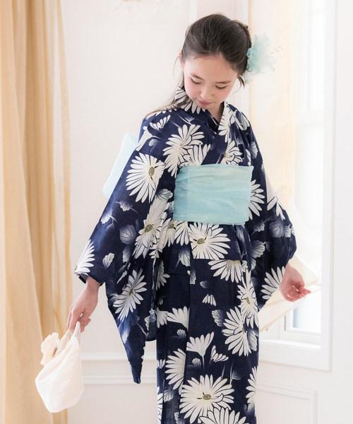 레트로 일본 무늬 유카타 JUNIOR