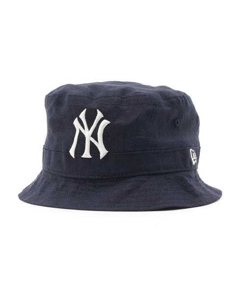store new eraonspotz original newera bucket 02 hat french linen new york  yankees navy wear 0ce13 4257907963f8