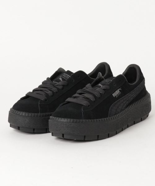 This PUMA Suede Platform Trace Sneaker Has Us Dreaming of