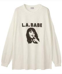L.A.BABEビッグTシャツ