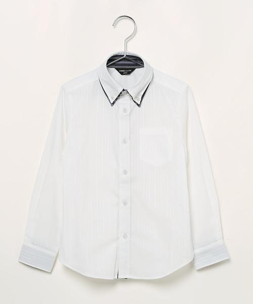18fd86254c576 COMME CA ISM(コムサイズム)の「ダブルカラーシャツ(シャツ・ブラウス)」 - WEAR
