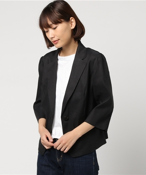 CeCe Womens Blue Puff Sleeve Keyhole Office Wear Peasant Top Shirt M トップス ファッション CeCe