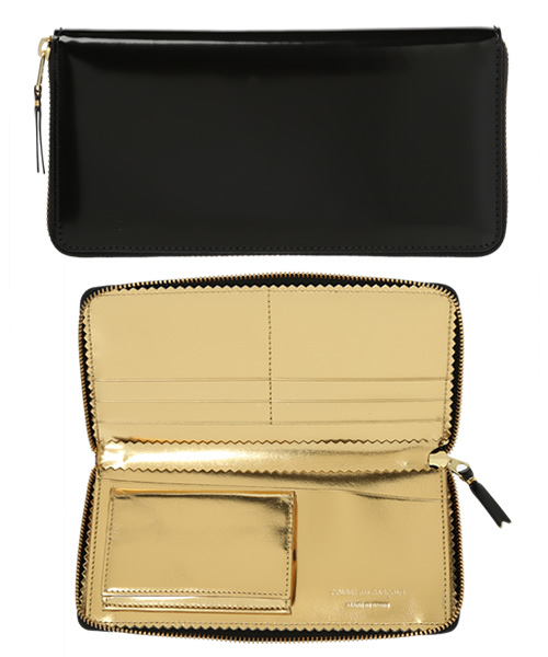 5595ccf55a7f Wallet COMME des GARCONS(ウォレット コム デ ギャルソン)の「MIRROR INSIDE (SA0110MI)(財布)」 -  WEAR