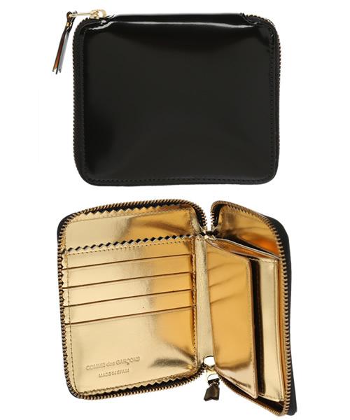 13baa3e9f9d8 Wallet COMME des GARCONS(ウォレット コム デ ギャルソン)の「MIRROR INSIDE (SA2100MI)(財布)」 -  WEAR