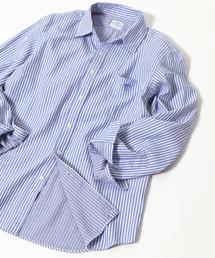 オックスフォードドビーストライプレギュラーカラーシャツ