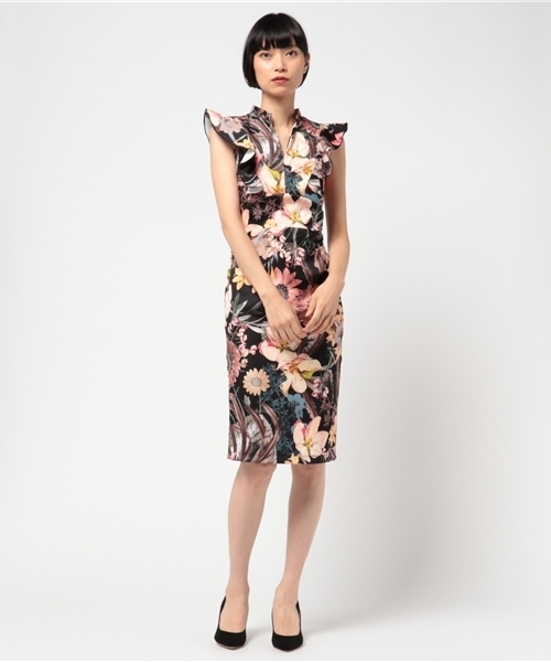 7f670ca41c36f Narcissus(ナルシス)の「 TEDDY ボタニカルタイトドレス(ドレス)」 - WEAR