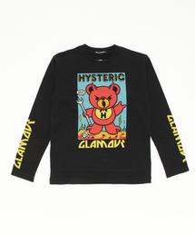 KOZIK/HYS DEVIL BEAR pt Tシャツ【L】
