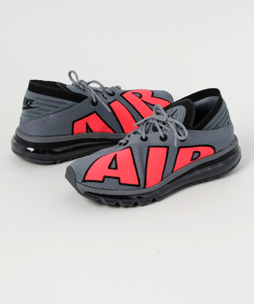 new concept 613d7 af735 「NIKE AIR MAX FLAIR (COOL GREY SOLAR RED-BLACK-PURE PLATINUM