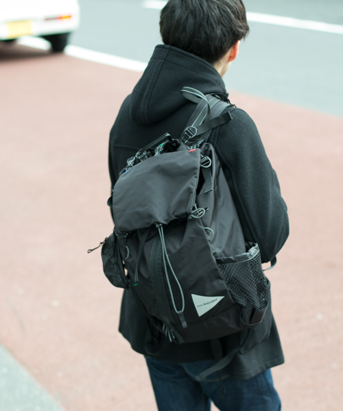 b27036810daf and wander(アンドワンダー)の「【and wander】30L backpack(バックパック/リュック)」 - WEAR