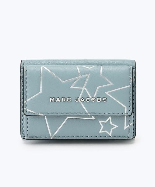 ffef1852a07 MARC JACOBS(マークジェイコブス)の「STARS/スター ミニ トライフォールド 三つ折り【日本限定アイテム】(財布)」 - WEAR