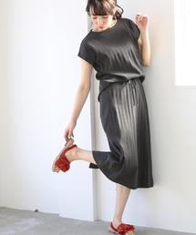 【セットアップ対応】USAコットンフライスタイトスカート