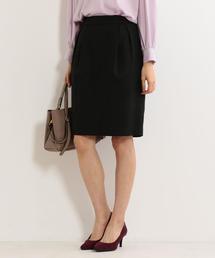 【予約】<closet story>ツイード タックタイトスカート