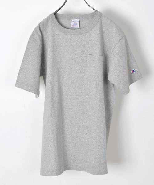 1460d152084ab3 SHIPS(シップス)の「Champion(チャンピオン): T1011(ティーテンイレブン) ポケット Tシャツ