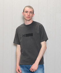 <H>LOGO PGMT CREW NECK SHORT SLEEVE T-SHIRT/Tシャツ