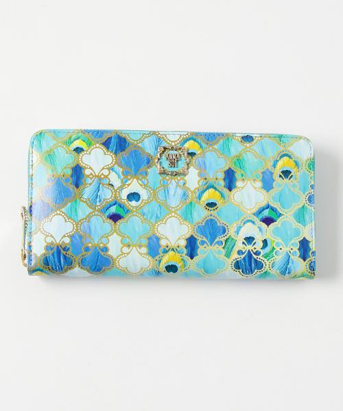 3912db144042 ANNASUI(アナスイ)の「ピーコック ラウンドファスナー長財布(財布)」 - WEAR