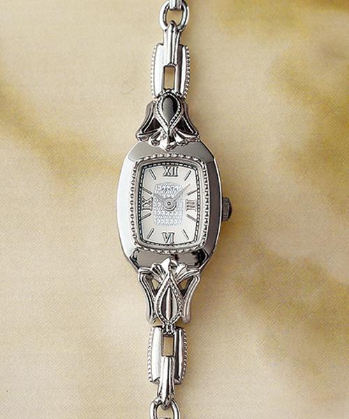 16556aaa7f agete(アガット)の「スクエアフェイスジュエリーウォッチ【AGETE48SV時計】(腕時計)」 - WEAR