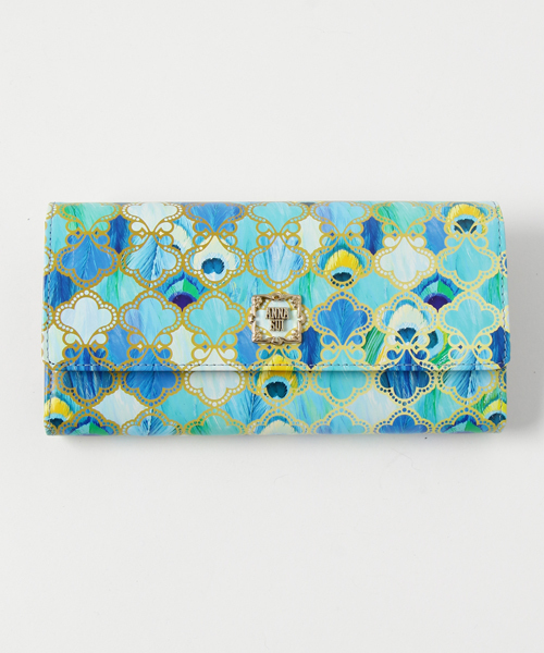 6b1f6c606562 ANNASUI(アナスイ)の「ピーコック 口金長財布(財布)」 - WEAR
