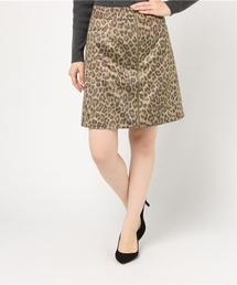 Aラインニースカート