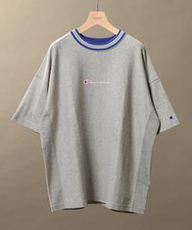 【別注】 <CHAMPION(チャンピオン)> REVERSE WEAVE LINE TEE/Tシャツ