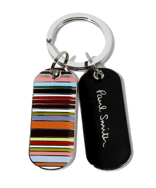 paul smith ポール スミス の name tag design key ring