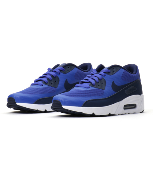 new product c6594 acf9f NIKE(ナイキ)の「NIKE AIR MAX 90 ULTRA 2.0 ESSENTIAL (PARAMOUNT BLUE BINARY BLUE- WHITE) (17SP)  SP (スニーカー)」 - WEAR