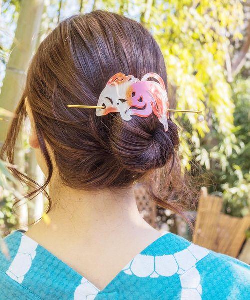 かんざしを使ったヘアアレンジ8選 浴衣に合う可愛い髪型