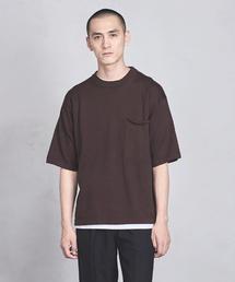 UAST ニット ビッグ Tシャツ