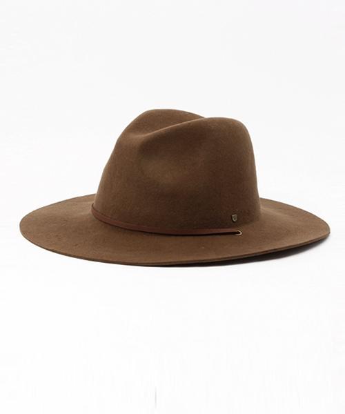 d83b735571c BRIXTON(ブリクストン)の「BRIXTON HAT MAYFIELD II DARK TAN(ハット ...