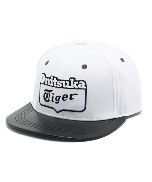 a155aa23faf ONITSUKA TIGER(オニツカタイガー)の「オニツカタイガー ロゴキャップ Onitsuka Tiger LOGO CAP (OKG419)( キャップ)」 - WEAR