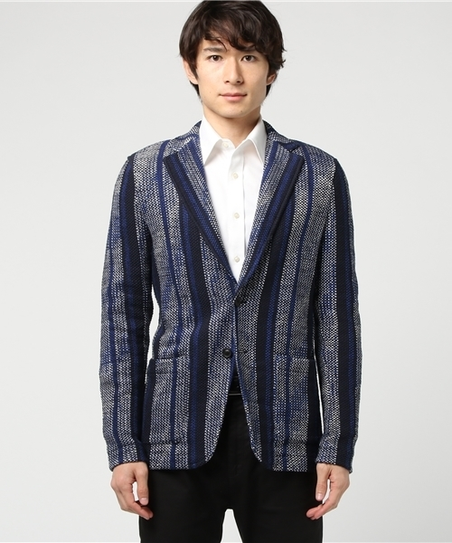 best loved 5ca39 f0141 TONELLO(トネッロ)の「TONELLO / T-JACKET 2ボタン ジャカード ...